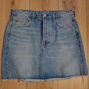 Jean skirt kjol