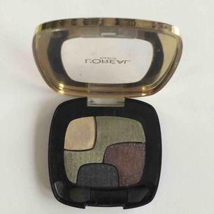 Ögonskugga från L'Oréal Paris, endast testad. Nypris 129 kr. Samfraktar gärna, tar swish!