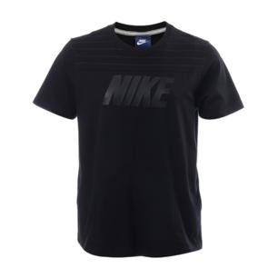 Svart Nike t-shirt med tryck logga och fickor på sidorna. Köpt i sport affär i Sundsvall för några år sedan.