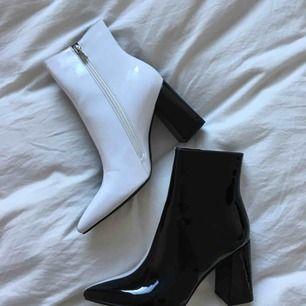 Public Desire Two Tone Ankle Boots, aldrig använda