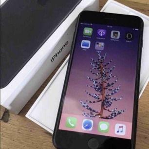Säljer min iphone 7 med 32 G. den är handen på hjärtat nästan som ny då jag inte använt den så mycket eftersom jag fick en ny för ett tag sen det finns självklart kartong ock kvitto. Mattsvart färg. Priset kan diskuteras vid snabb affär.