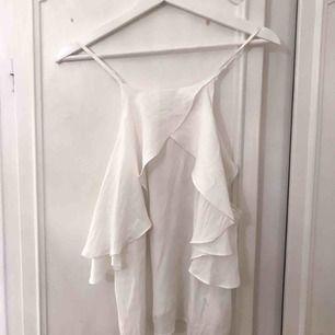 Fin vit topp/blus/linne från JC.💕