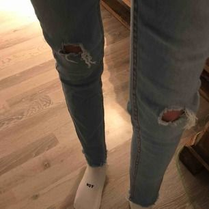 Snygga denim byxor från cheap monday.  Pm för fler bilder och info