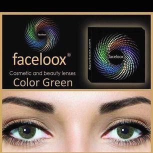Säljer beauty linser, utan styrka färg grön och har 4 par. 1 par för 100kr eller alla 4 för 20. endags linser. Jätte fina på!