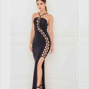 Lattice Detailed Maxi Dress