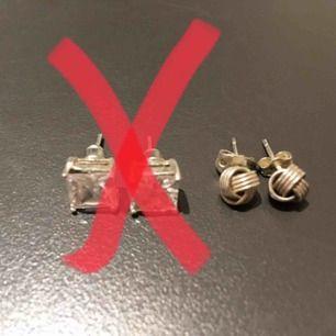 Silverörhängen 20kr/st Hämtas i Bromma eller skickas. Köparen står då för frakt.