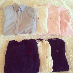 4 stycken Ralph lauren skjortor i storlek s säljes då de tyvärr inte passar mig längre. KnPpt använda så de är i mycket fint skick, 400kr styck eller alla 4 för 1500kr. Köparen står för frakten!