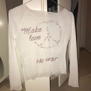 transparent tröja med texten