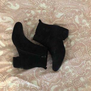 Svarta boots, använt fåtal gånger