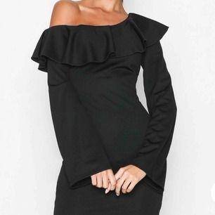 Säljer en helt ny klänning från Nelly, aldrig använd prislapp kvar. Köpt för 399kr. Skriv för fler bilder! Frakt: 30kr