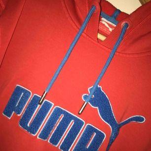 Jättefin Puma hoodie, S, frakt ca 60 kr.