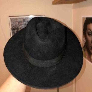 Säljer denna svarta hatt från H&M har aldrig användning för den så någon annan kanske behöver den mer än vad jag gör! Köparen står för frakt!