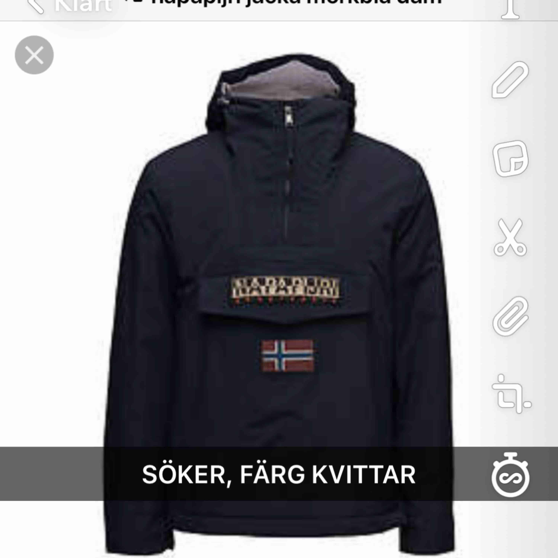 SÖKER I XS, S ELLER STÖRSTA BARNSTORLEKEN!!. Jackor.