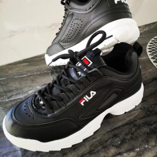 Helt nya Fila sneaker storlek 42 normal. I storlek Svarta Oanvända Hämtas kan frakta också köparen betalar spårbar schenker 60 kr
