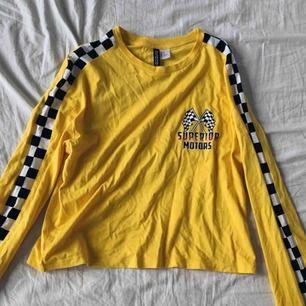 Gul tröja från h&m