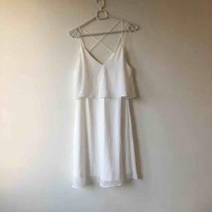 Helt oanvänd!!! :) jättefin klänning jag bara aldrig fått tillfälle att använda. Hämtas eller skickas mot frakt.