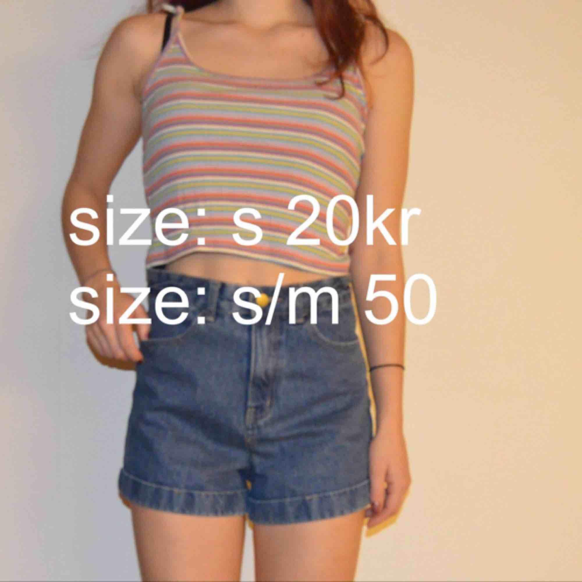 Linne och shorts. Shorts.