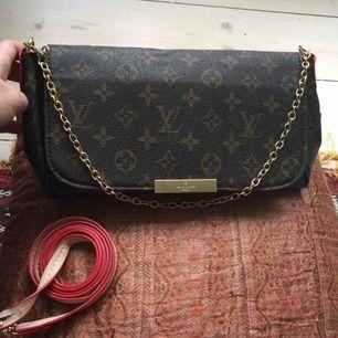 Louis Vuitton Favorite MM kopia. Fint skick, några repor på metallspännet fram. Frakt kostar 58 kr.