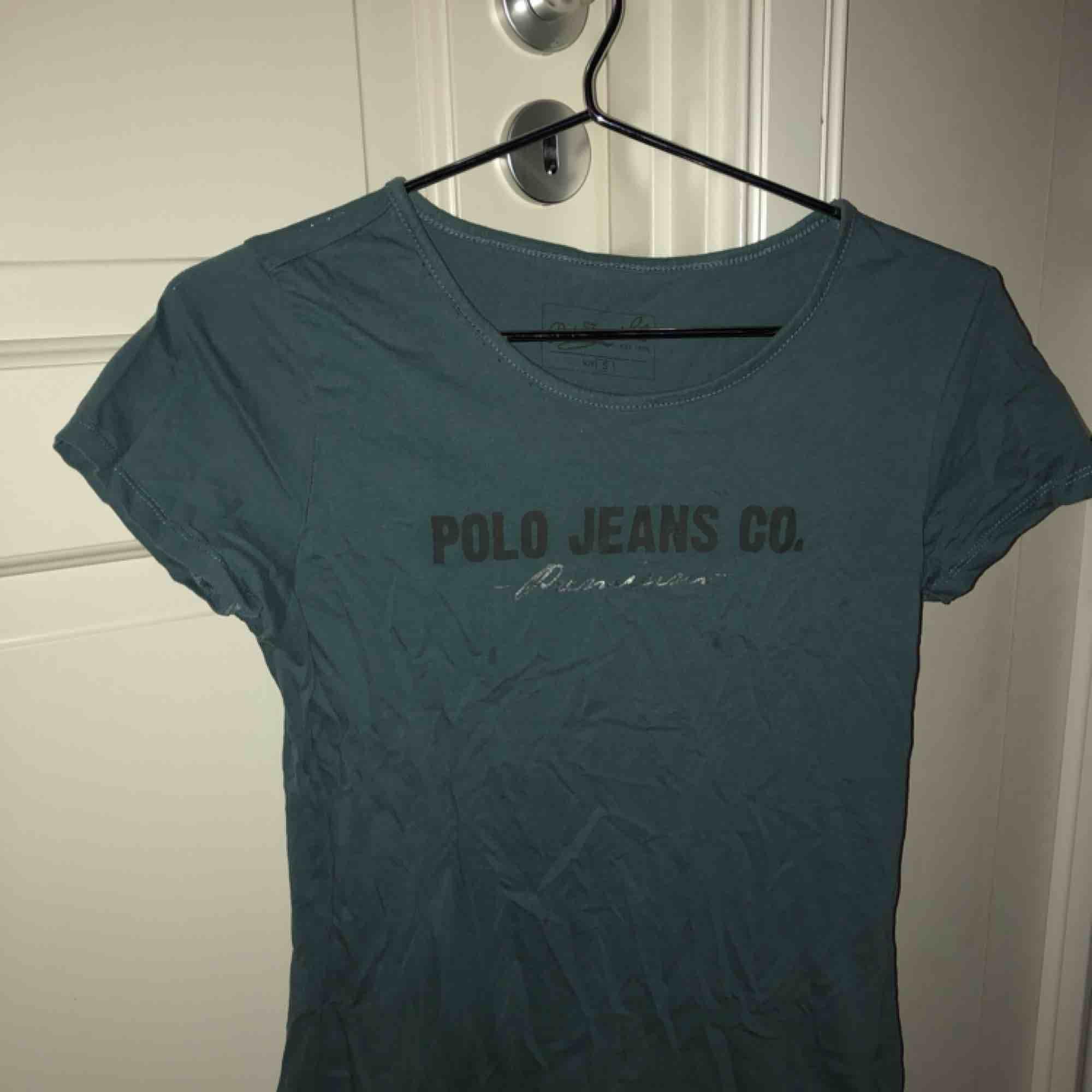 T-shirt från Ralph lauren i blå/grå färg.. T-shirts.
