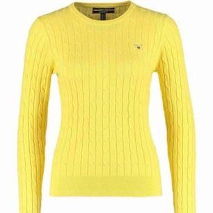 Säljer denna fina stickade tröjan från Gant. Endast använd ett fåtal gånger! Storlek S.
