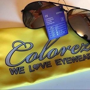 Pilot Solglasögon, nya och aldrig använda. Solglasögonpåse från Colorez ingår. 20:- inkl frakt.
