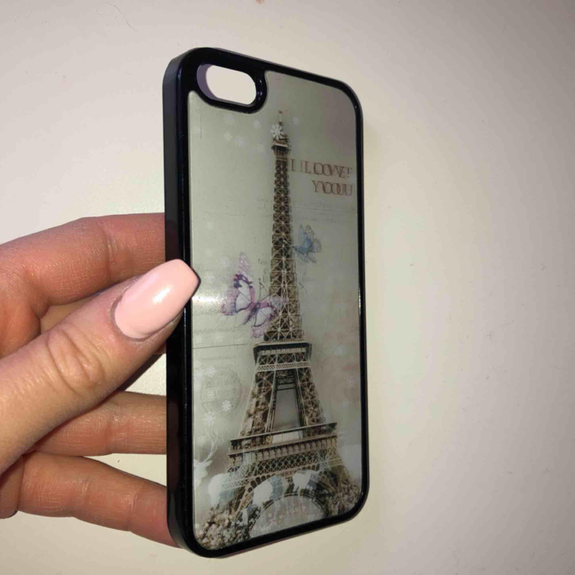Mobilskal för iPhone 5 med bakgrund som rör sig. Frakt 10 kr, aldrig använt!. Accessoarer.