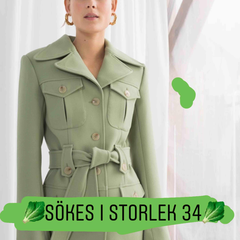 SÖKER DENNA FRÅN OTHER STORIES I STORLEK 34!!🦋. Jackor.