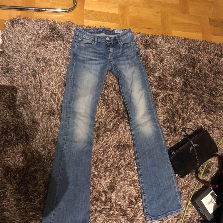 Crocker bootcut jeans strl 26/32. Jeans & Byxor.