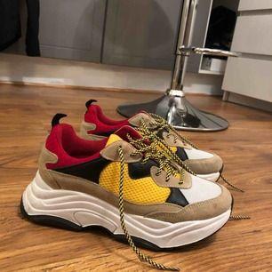 Använda fåtal gånger, chunky sneakers.