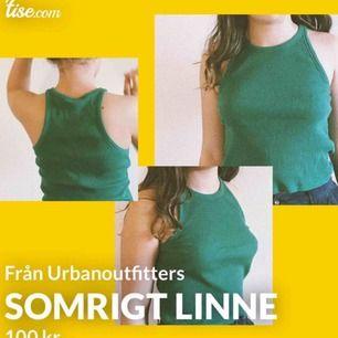 Superfint somrigt linne från Urban Outfitters! Använt en gång i som nytt skick. Köptes för ca 300 kr (köpt i Köpenhamn så inte helt säker hur mkt i svenska pengar)