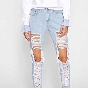 slitna jeans XS aldrig använda då dom är för stora för mig. köparen betalar för frakten