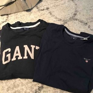 två t-shirt från gant strl xs 100kr/st nypris 400
