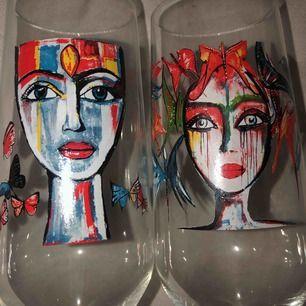 Carolina Gynning glas, 1st 100kr 2st 150kr. Kan skickas exklusive frakt :)