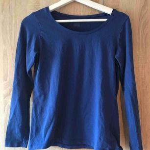 En blå basis tröja från Kappahl i strl M. Fint skick. 30kr  Köpare står för ev. frakt
