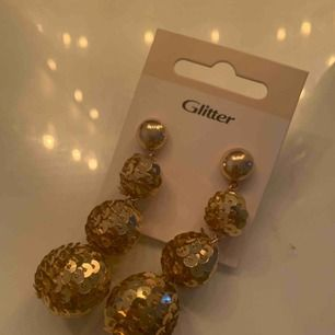 Unika örhängen från glitter! Oanvända✨