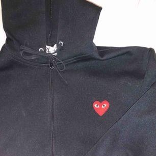 Play cdg hoodie med zip