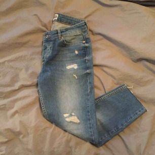 Boyfriend jeans från Twist & Tango storlek 25. Jag är 164 och har klippt till längden på byxan, ankellängd. Knappt använda så i väldigt fint skick! Frakten ingår i priset ⭐️