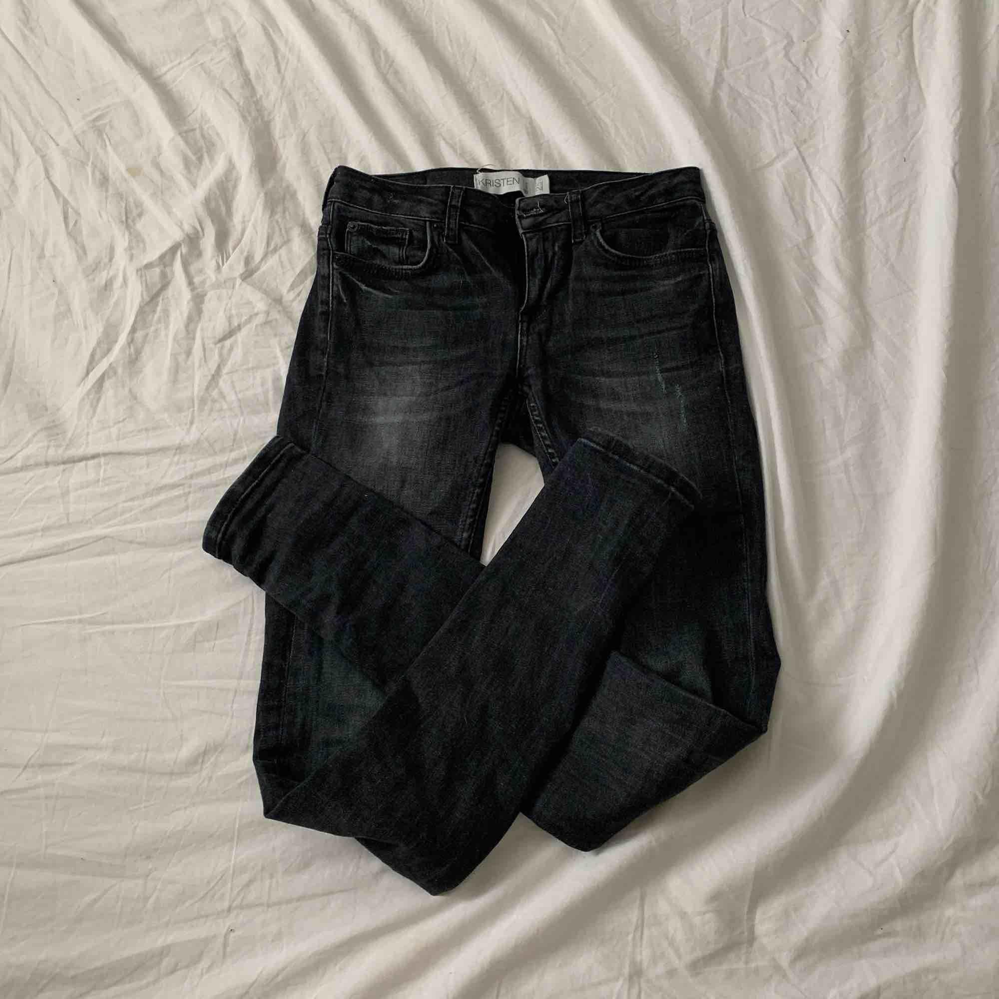 """Sjukt snygga byxor från Gina i modellen """"kristen"""". Storlek XS / 25 och jättefint skick! Som nya. Priset är inklusive frakt☺️💫. Jeans & Byxor."""