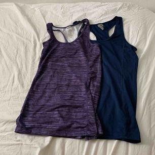 Sjukt fina new body linnen i fint skick! Ett marinblått och ett lila med mönster. Frakten är inräknad i priset!