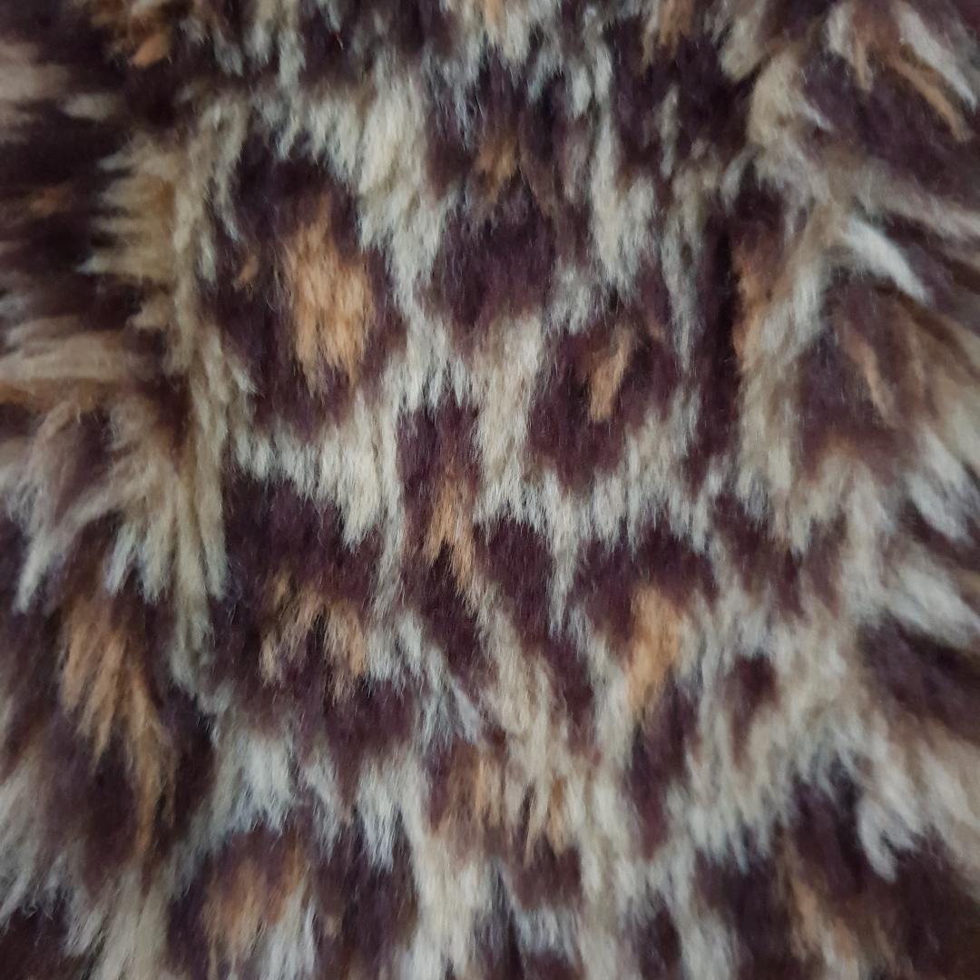 Leopard fuskpäls furry hårband håraccesoar (Kan skicka en bild med den på). Accessoarer.