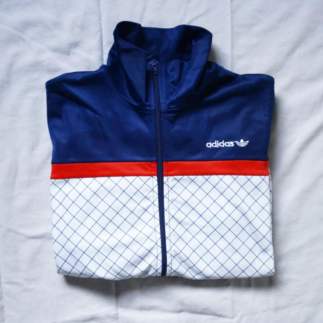 VINTAGE Adidas zipper. Storlek 38, liten i storleken. Bra skick och snygg. 56kr frakt! . Tröjor & Koftor.