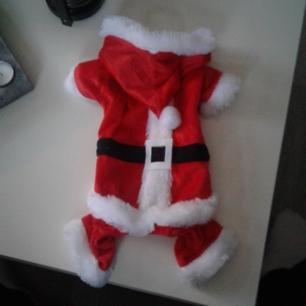 Säljer en oanvänd juldress för hund i storlek S. Säljes pga att den var för liten, 15kr +frakt. Betalas med swish🙆  🎉