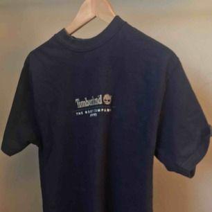 Timberland t-shirt med liten krage