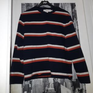 Långärmad randig tröja från H&M