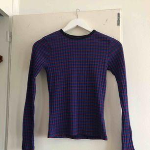 Jättefin randig ribbad tröja från Zara