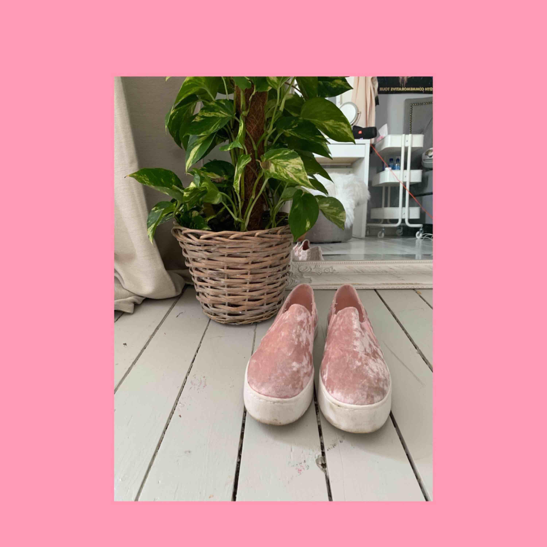 Söta sneakers till våren och sommaren. Såå fina från River Island, använda 3 gånger så nästan som nya. . Skor.
