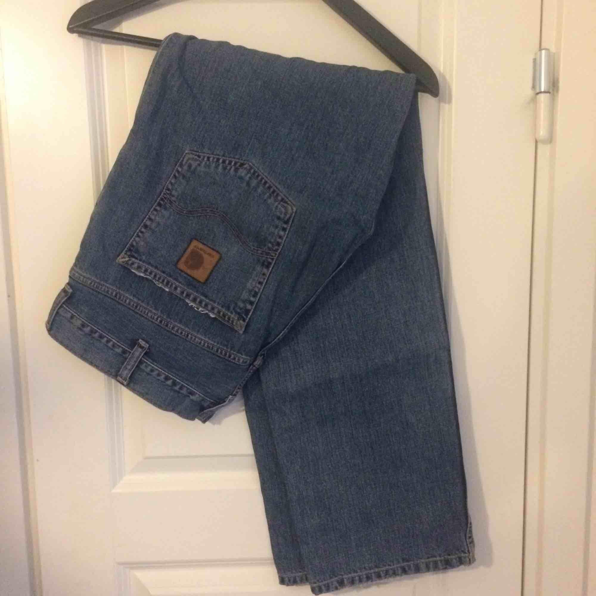 Carhartt Marlow Pants - blue. Jeans & Byxor.
