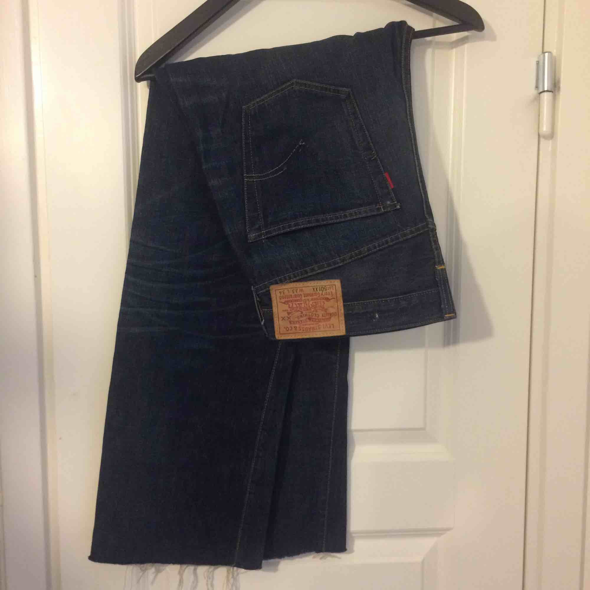 Levi's 501 deep blue. Jeans & Byxor.