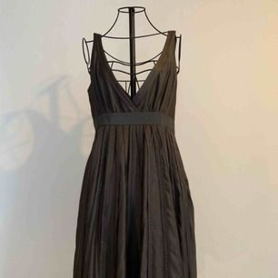 Beautiful chocolate silk dress. 100% silk