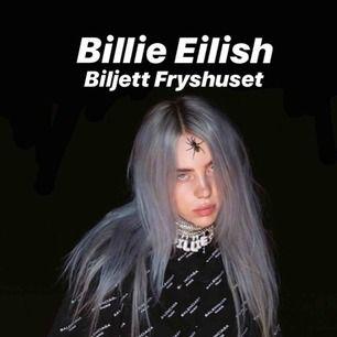 Säljer en Billie Eilish biljett till hennes konsert på fryshuset på fredag (15/2). Säljer då det visade sig att jag inte kan gå :/// pris kan diskuteras 💗